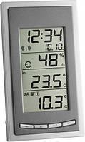 Термометр цифровой TFA Diva Go, внешний радиодатчик, 144х81х33 мм