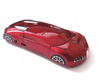 "Телефон-машинка Bugatti Veyron C618 (2 SIM) 2,2"" 0,3 Мп red красная Гарантия!"