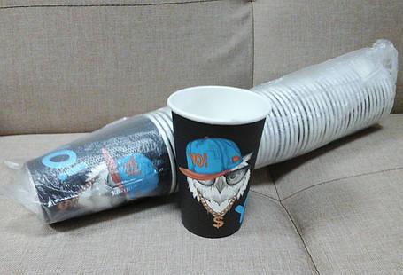 Одноразовый чайный стакан CASHER 340 мл, фото 2