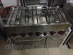 Газовая профессиональная плита на 5 конфорок