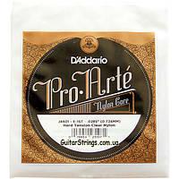 Струна D'Addario J4601 Pro-Arte Clear 1st Nylon String Hard Tension (классика)