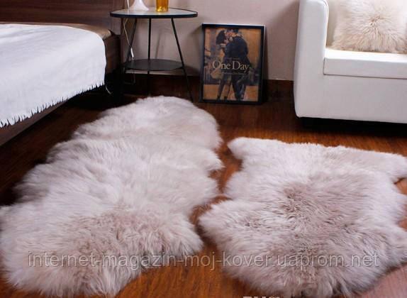Очень красивая новозеландская овчина серокофейного цвета с доставкой в Харьков