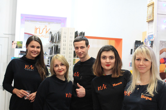 Корпоратив в Irisk-boutique