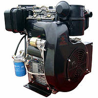 Двигатель дизельный Weima WM290FE (20 л.с., 2 цил., эл.стартер, шпонка или конус) + доставка