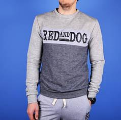 Свитшот мужской Red and Dog BlkGrey серый