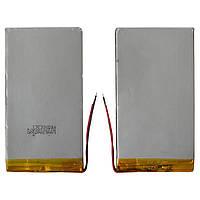Батарея (АКБ, аккумулятор) для китайских планшетов, универсальный, 4000 mAh, 130х68х3,6 мм