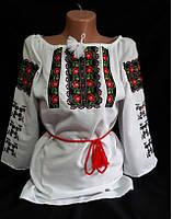 """Вышиванка женская,""""Чорнобривці"""", размеры 42-60, опт.510/розн.550 грн."""