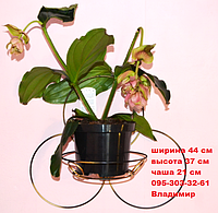Капля, подставка для цветов на 1 чашу