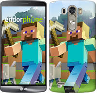 "Чехол на LG G3 dual D856 Minecraft 4 ""2944c-56"""