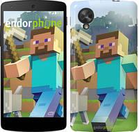 """Чехол на LG Nexus 5 Minecraft 4 """"2944c-57"""""""