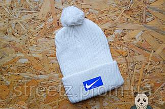 Зимняя шапка с бубоном Nike / Найк , фото 3