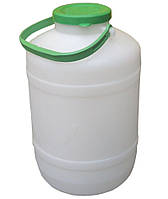 """Бидон пластиковый пищевой 5 литров """"Горизонт"""" + Видео"""