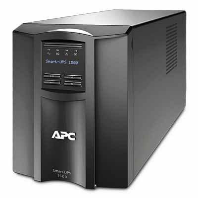 Источник бесперебойного питания APC Smart-UPS 1500VA LCD (SMT1500I)