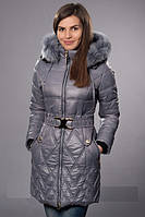 Стильная женская куртка-пальто. Зима. Опт и розница