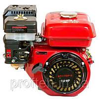 Двигатель бензиновый WEIMA BT170F-S2P (7,0 л.с., шпонка Ø20мм, L=52мм, шкив 2 ручья) + доставка