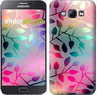 """Чехол на Samsung Galaxy A8 A8000 Листья """"2235u-135"""""""