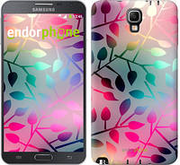 "Чехол на Samsung Galaxy Note 3 Neo N7505 Листья ""2235u-136"""