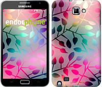 "Чехол на Samsung Galaxy Note i9220 Листья ""2235u-316"""