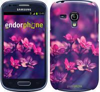 "Чехол на Samsung Galaxy S3 mini Пурпурные цветы ""2719c-31"""