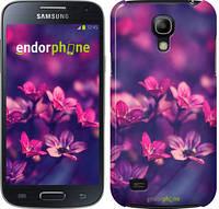 "Чехол на Samsung Galaxy S4 mini Duos GT i9192 Пурпурные цветы ""2719c-63"""