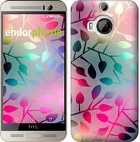"""Чехол на HTC One M9 Plus Листья """"2235u-134"""""""