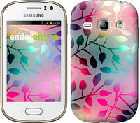 "Чехол на Samsung Galaxy Fame S6810 Листья ""2235u-254"""