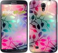 "Чехол на Samsung Galaxy Mega 6.3 i9200 Листья ""2235u-167"""
