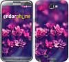 """Чехол на Samsung Galaxy Note 2 N7100 Пурпурные цветы """"2719c-17"""""""