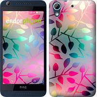 "Чехол на HTC Desire 626G Листья ""2235u-144"""