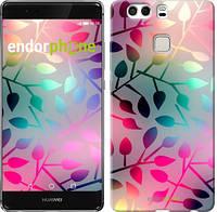 "Чехол на Huawei P9 Plus Листья ""2235u-300"""