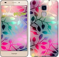 """Чехол на Huawei Honor 5C Листья """"2235u-356"""""""