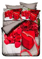 Бамбуковое  постельное белье Class 3D April для влюбленных