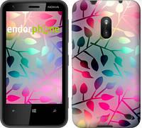 "Чехол на Nokia Lumia 620 Листья ""2235u-249"""
