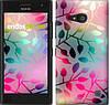 "Чехол на Nokia Lumia 650 Листья ""2235c-393"""
