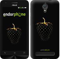 """Чехол на Asus ZenFone C ZC451CG Черная клубника """"3585u-181"""""""