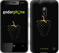 "Чехол на Nokia Lumia 620 Черная клубника ""3585u-249"""