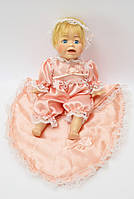 Фарфоровая коллекционная кукла пупс 24 см, фарфор