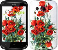 """Чехол на HTC Desire C A320e Маки """"523u-225"""""""