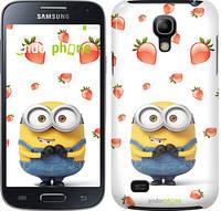"Чехол на Samsung Galaxy S4 mini Миньон с клубникой ""3369c-32"""