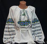 """Вышиванка женская,""""Два мака"""", размеры 42-60, опт.510/розн.550 грн."""