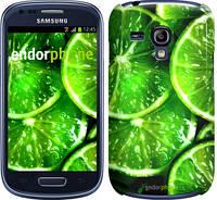 """Чехол на Samsung Galaxy S3 mini Зелёные дольки лимона """"852c-31"""""""