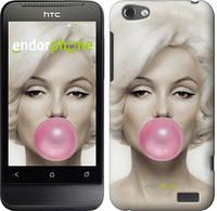 "Чехол на HTC One V t320e Мэрлин Монро ""1833u-227"""