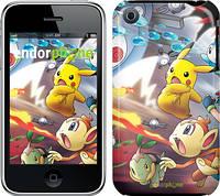 """Чехол на iPhone 3Gs Покемоны pokemon go v2 """"3771c-34"""""""