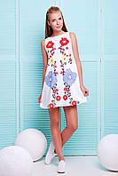 Платье GLEM Этно цветы платье Лада б/р
