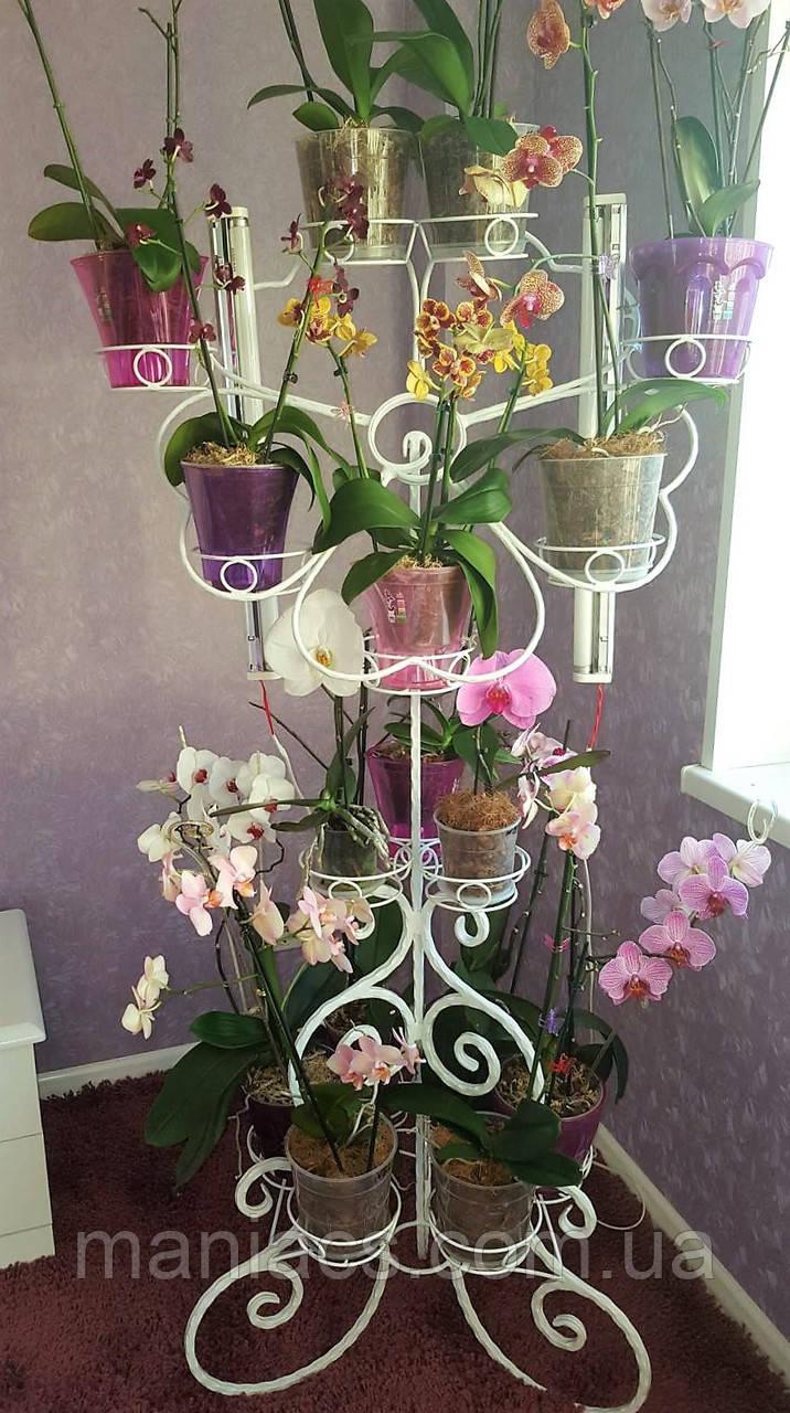 Цветок-1, подставка для цветов на 16 чаш
