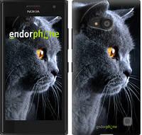 "Чехол на Nokia Lumia 650 Красивый кот ""3038c-393"""