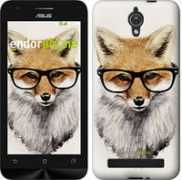 "Чехол на Asus ZenFone C ZC451CG Лис в очках ""2707u-181"""