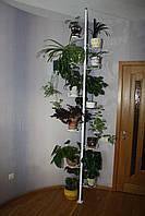 Розпірка підлога-стеля, підставка для квітів, фото 1