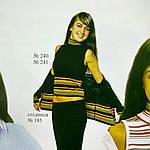 Блуза женская , блуза джемпер с горлышком, (Жк 241037 ), молодежная мода , шерсть , вязка., фото 2