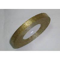 Лента парча 903 золото 12 мм